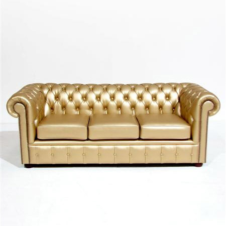 Ordinaire Gold Chesterfield Sofa DNO