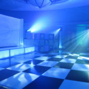 White and Black Dance Floor