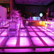 Illuminated Dance Floor with Ice Tables 01