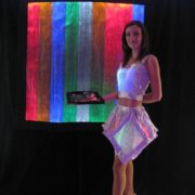 Mylar Backdrop and Presenter