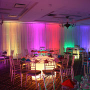Rainbow Illuminated Dining Room