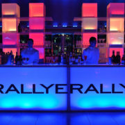 RGB LED Acrylic Bars with tower backbars