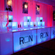 RGB LED Bar with RON Decals and 2-tier back bar