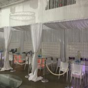 Water Bubble Cabanas with Hanging Crystal Beads