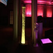 Yellow Water Bubble Column and Projector