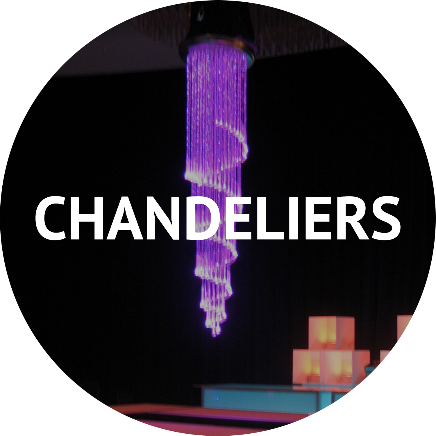 chandeliers and event furniture rentals Manhattan NYC