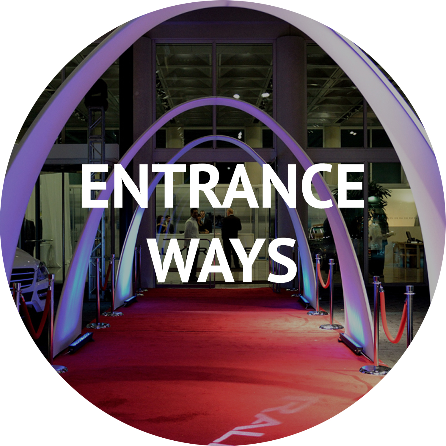 entrance ways and special event furniture rental Manhattan NYC