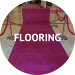 flooring and event decoration rentals Manhattan NYC