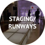 staging runways and event decoration rentals Manhattan NYC