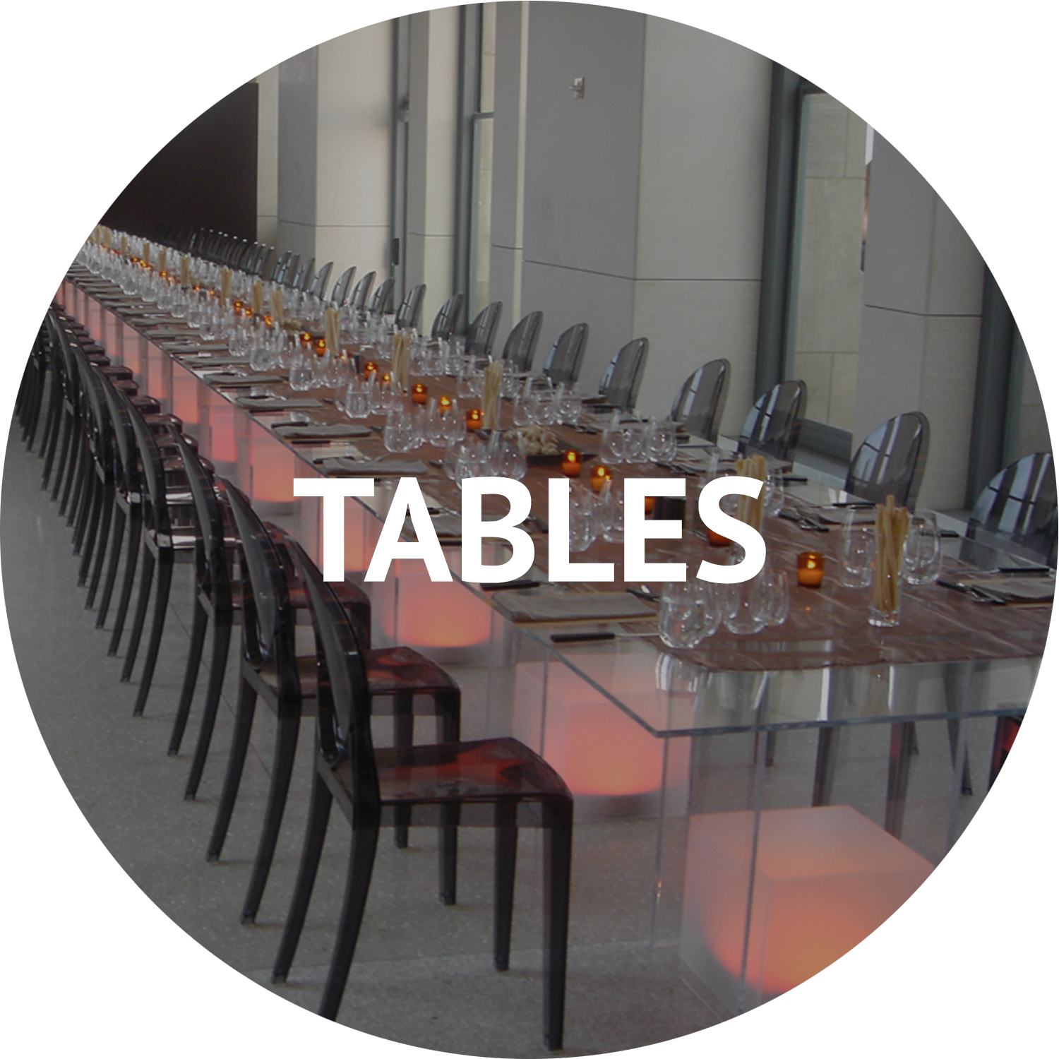 tables and event decor rentals Manhattan NYC